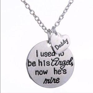 Jewelry - Daddy's Angel new necklace❤️